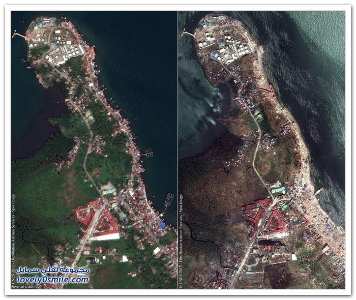 بعد أسبوع من إعصار هايان