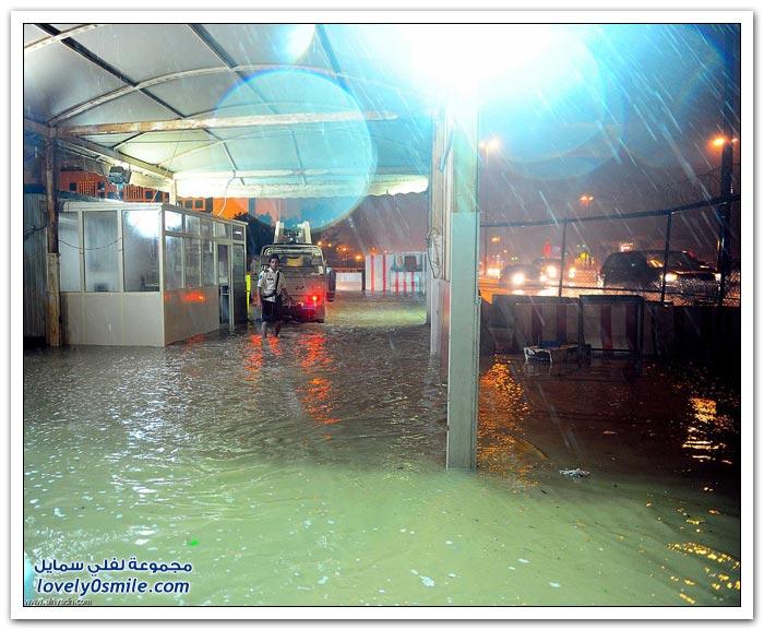 صور أمطار الرياض ليوم السبت 16-11-2013م